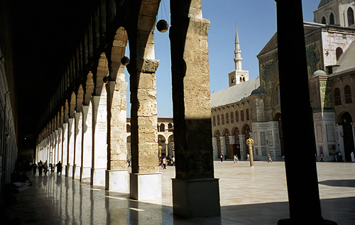 Syria, The Umayyad Mosque in Damascus