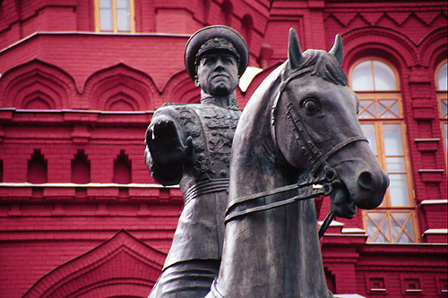 Statue next to Red Sq