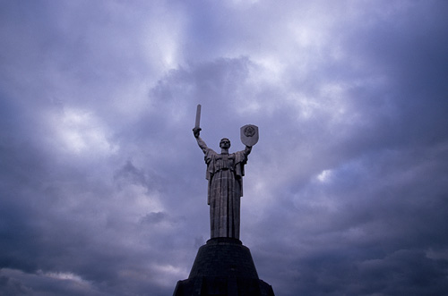 The Motherland Statue